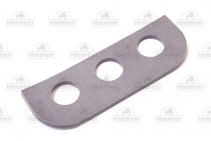 Rear window handle gasket